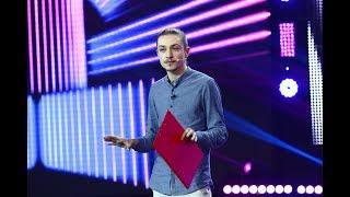 """Dima Cubreacov s-a întors la """"iUmor""""! Același stil morbil i-a impresionat din nou pe jurați"""