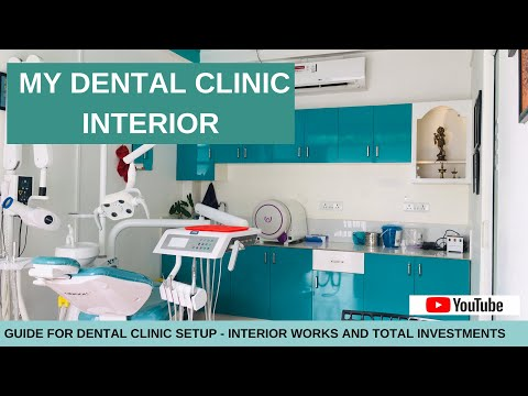 DENTAL CLINIC INTERIOR|PART 1|COMPLETE GUIDE FOR DENTAL CLINIC SETUP IN MINIMUM BUDGET|BY DR.JISHNU