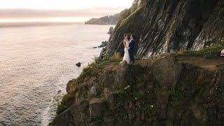 Epic Two Day Elopement On The Oregon Coast | Concetta Films Elopement Videographers