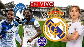ATALANTA vs REAL MADRID EN VIVO 🔴 OCTAVOS DE FINAL - CHAMPIONS LEAGUE