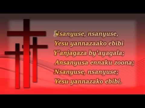 HYMN 338 NALYOKA NE NKUSENGA GGWE Oh Happy Day That fixed my choice in Luganda Lyrics1