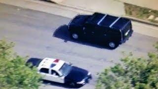 Los Angeles Police Chase stolen Hummer (April 24, 2017)