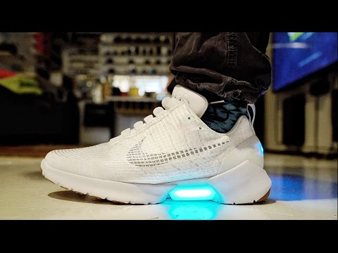 Thumbnail: HYPERADAPT MOTORIZED SELF LACING Nike's