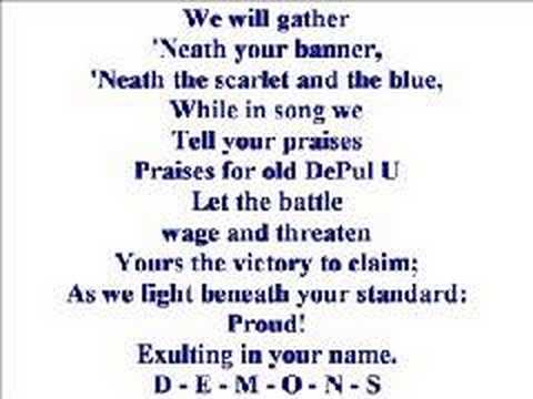 Depaul University Fight Song