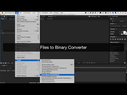 Files to Binary Converter Demo