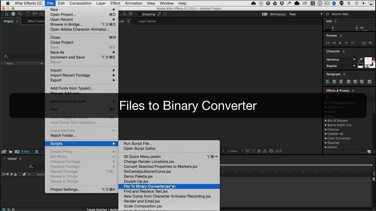 File To Binary Converter
