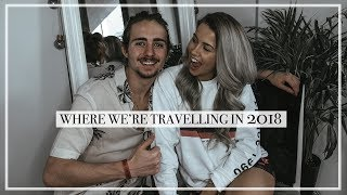 TRAVEL TALK: OUR TRIPS AND PLANS FOR 2018 🌍 | Copper Garden