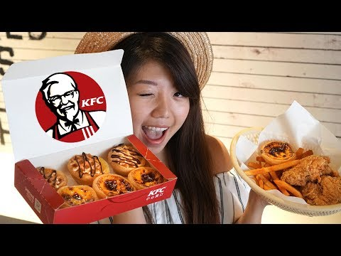 SNACK on Taiwan KFC's Portuguese Egg Tarts