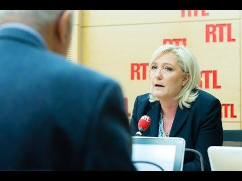 """""""L'Allemagne fait n'importe quoi"""", lance Marine Le Pen"""