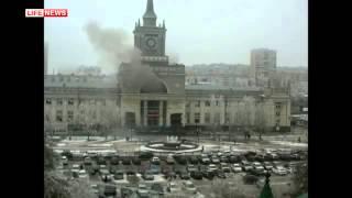 Теракт на ж/д вокзале в Волгограде сняли камеры наблюдения
