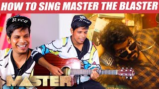 "Making of ""MASTER THE BLASTER"" Song 