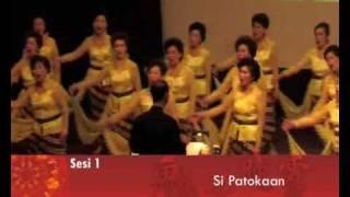 SI PATOKAAN-VAJRA GITA NUSANTARA CHOIR  韵缘佳乐合唱团