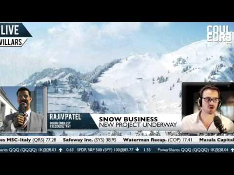 Rajiv Patel - Boosting Swiss ski resorts