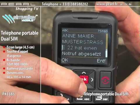 PX3385-TÉLÉPHONE PORTABLE DUAL SIM ''XL-959''