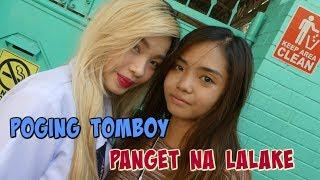 Poging Tomboy O Panget na Lalake ?