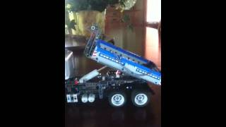 Lego technic container transport truck