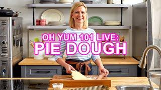Professional Baker Teaches Y๐u How To Make PIE DOUGH LIVE!