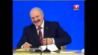 Лукашенку рассказывают АНЕКДОТ про него же!   Lukashenko told jokes about it yet! ⊛