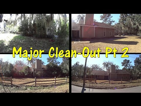 Cutting Grass - Massive Clean out - SMR Ep 2 #Charity #PayItForward
