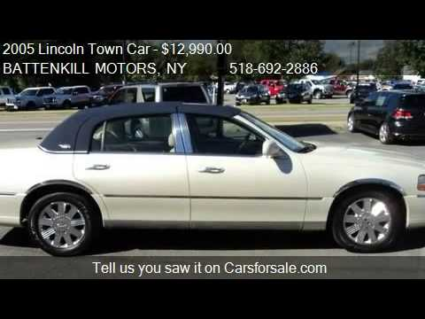 2005 Lincoln Town Car Signature Limited For Sale In Greenw Youtube