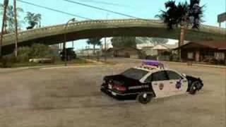 GTA sa Police Sound Mod