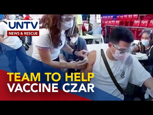 Gov't needs another team to help Sec. Galvez in vaccination program