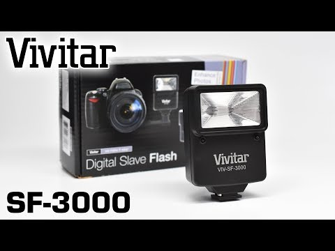 Vivitar SF-3000 Digital Slave Flash Tutorial (VIV-SF-3000)
