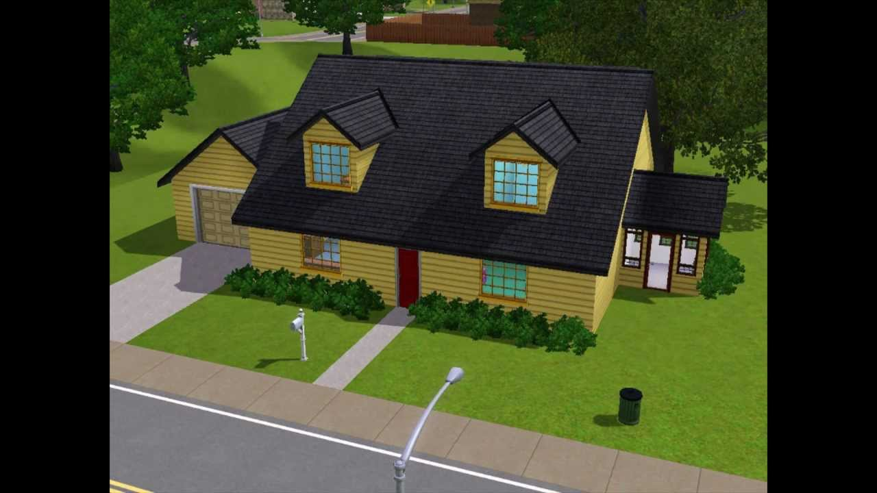 The Sims 3 - Family Guy house Perfect - YouTube