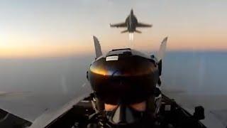 [국내최초] F/A-18전투기와 마주친 찐-유에프오의 …