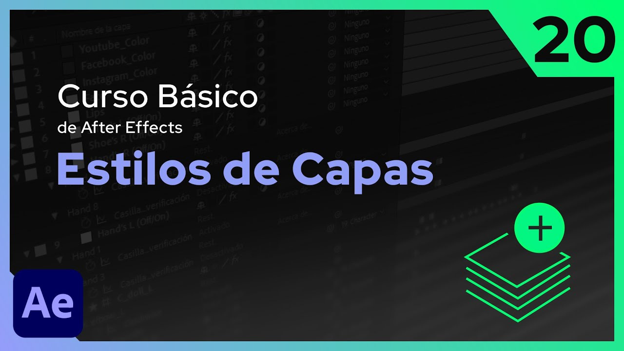 Estilos de Capas | After Effects - Tutorial