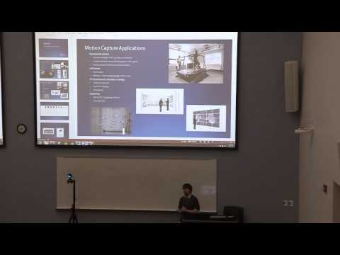 """Brent Mason, NaturalPoint Inc. - """"3D Applications That Use Marker-based Motion Capture Technologies"""""""