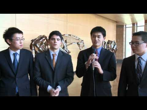 Wharton, University of Pennsylvania students pitch a stock at MII / Ross Stock Pitch Competition