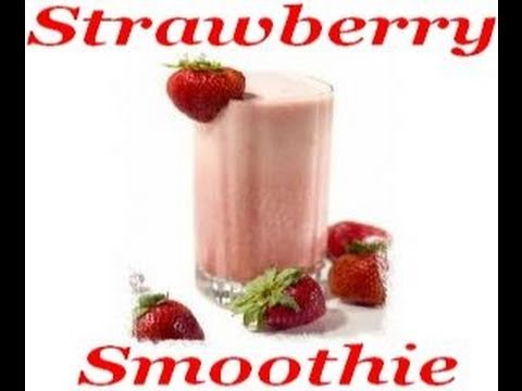 Atkins Diet Recipes Low Carb Breakfast Strawberry Smoothie Youtube