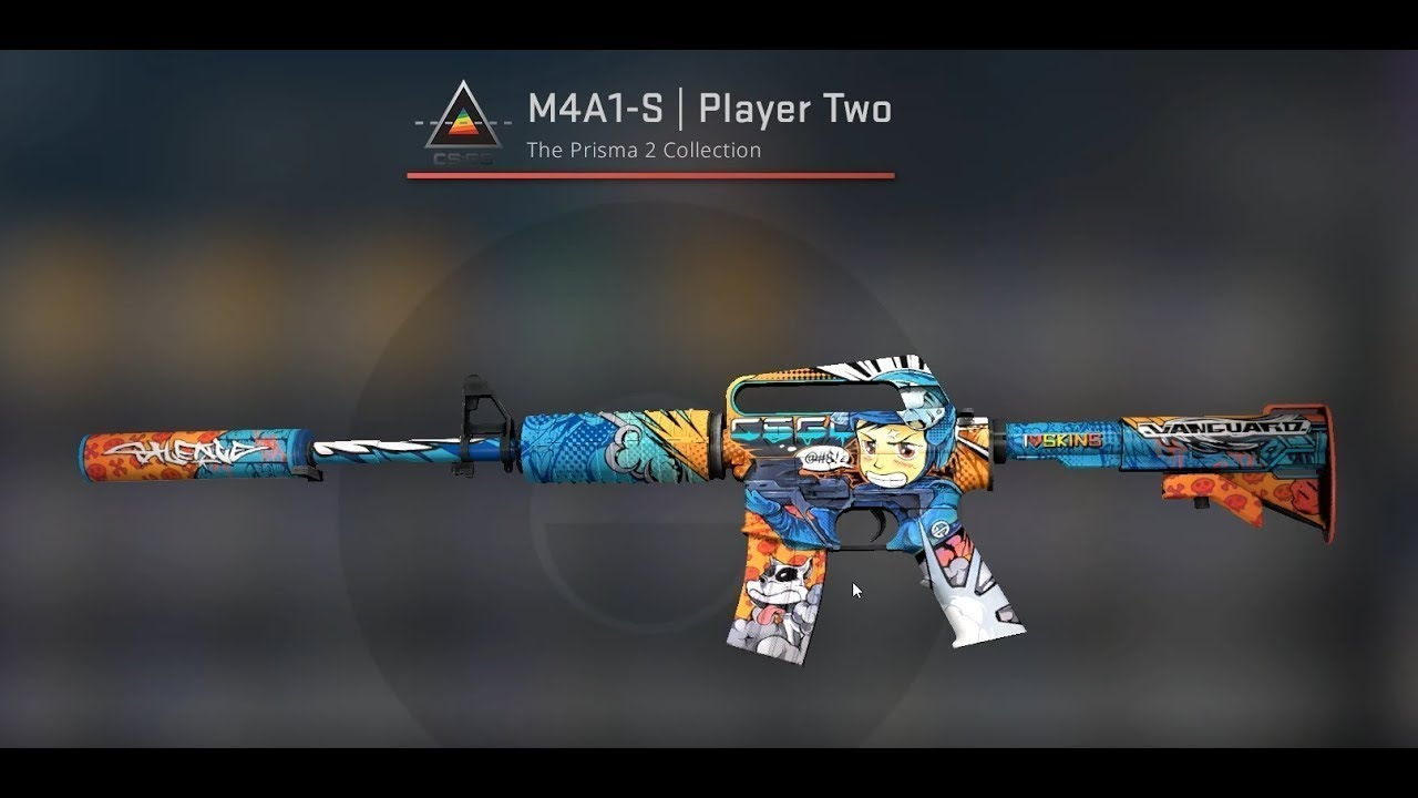 TOP 5 M4A1-S | PLAYER TWO SKIN UNBOXING - YouTube