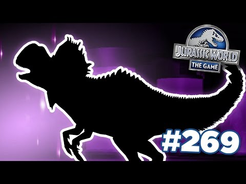 Dilophosaurus Hybrid Is Coming! || Jurassic World - The Game - Ep269 HD