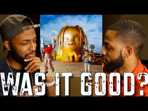 TRAVIS SCOTT ASTROWORLD REVIEW AND REACTION #MALLORYBROS 4K