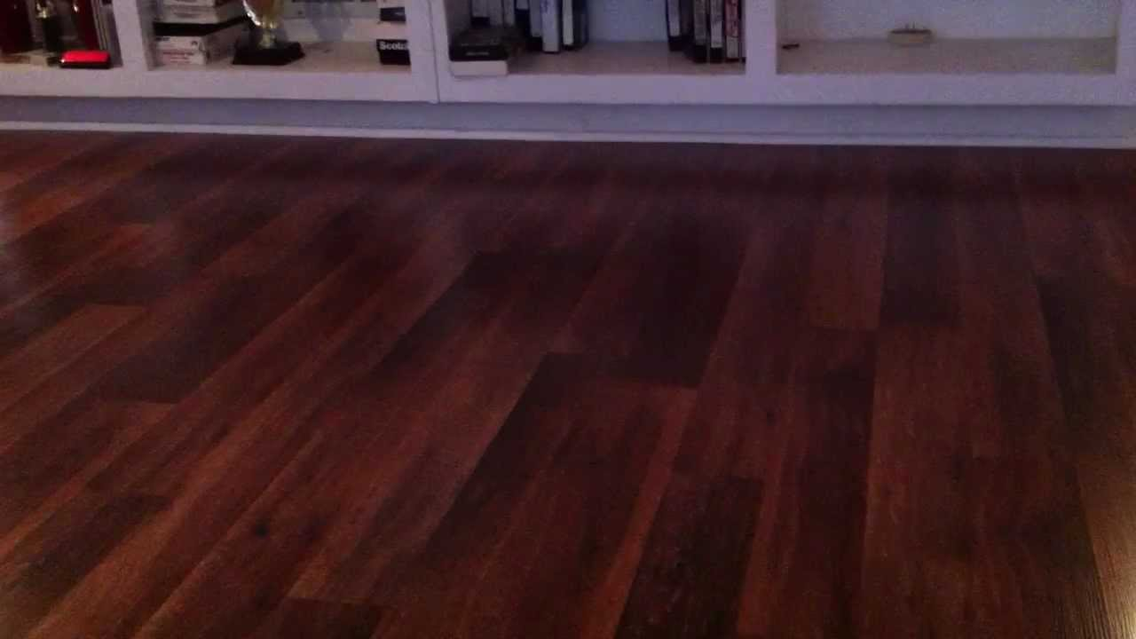 Dark Color Glueless Laminate Flooring