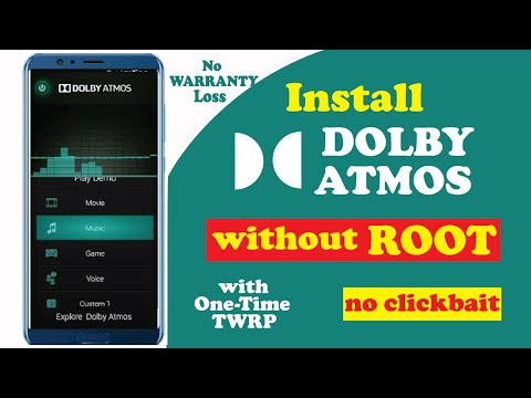 Install Dolby Atmos On Any Android Device | Without Root And Without Twrp | 2018