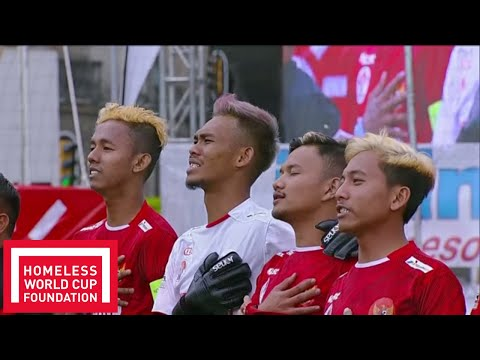 Indonesia v Poland | FULL MATCH | Day 1, Pitch 1 | Homeless World Cup 2018