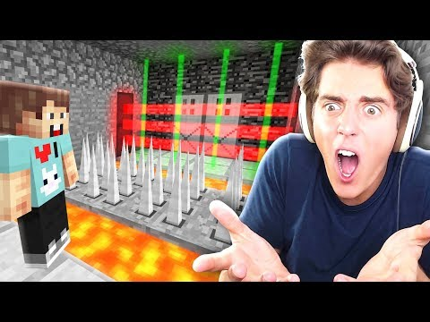 THE MOST UNFAIR TROLL MAP EVER! Denis RAGES in Minecraft 😡😡 Grrr!!