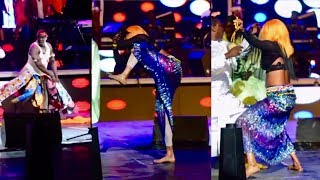 Cette danseuse ak Lirou Diane todj nagn grand theatre Adiouza bi ak leumbeul yi