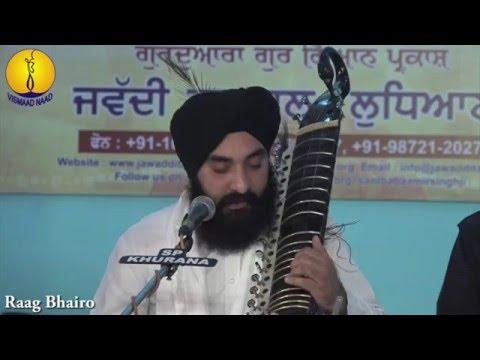 AGSS 2015 : Bhai Sandeep Singh ji - Raag Bhairo