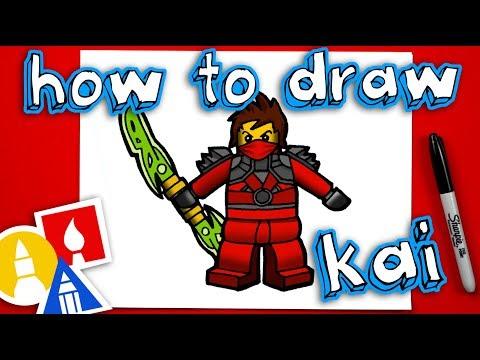 How To Draw Kai From Ninjago