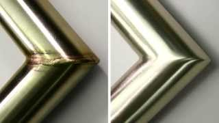 How to Finish a Welded Stainless Steel Tube in 3 Steps - Satin Finish