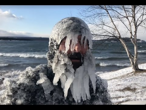 Jerryism #53 12.25.17 Christmas Day Presque Isle Surfing ...