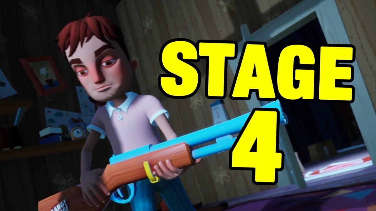 HELLO NEIGHBOR HIDE & SEEK STAGE 4 – GamePlay Video Share – Best