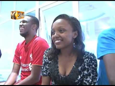 K24 Reporters gifts each other on Boxing Day