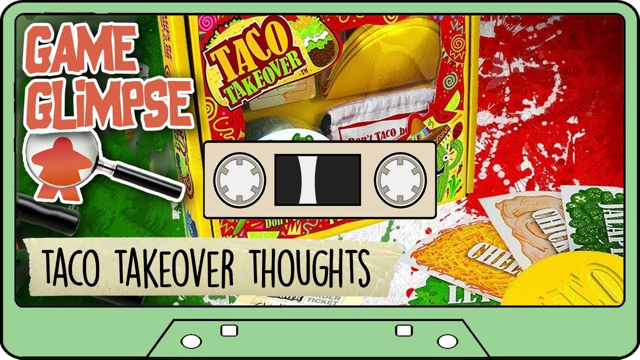 TACO TAKEOVER GAME REVIEW - Party Game Taco Takeover - …