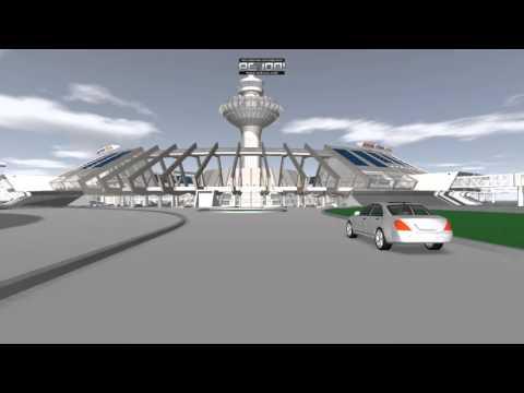 Вориант реконструкции аэропорта