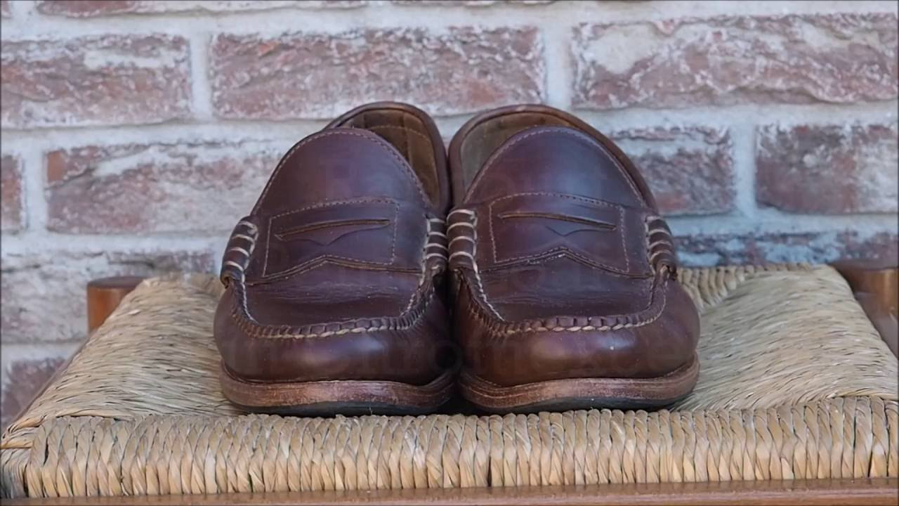 babdb46cffdfde Rancourt   Co. Beefroll Penny Loafer Shoe - 3 year review - YouTube